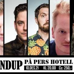 Standup på Pers Hotell