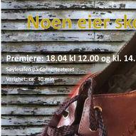 Teaterdryss 2021: NOEN EIER SKOEN 18.04.21 kl. 12.00