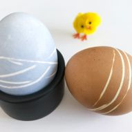Fargerike, vakre egg til påskefrokosten