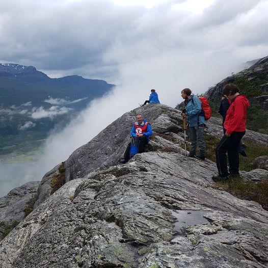 Norddalsfjord. Nedstevatnet - Støylen - Dyttingevatnet - Kvernavatnet - Solheim Skule