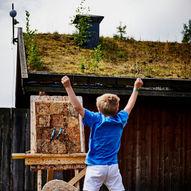 Sommerskole på Midgard vikingsenter uke 25 2021