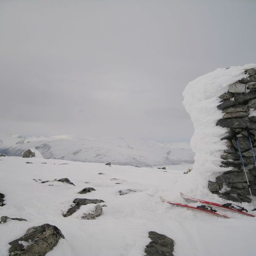 Brattskarven 1569 moh.