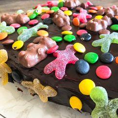 Enkel sjokoladekake til barnebursdag
