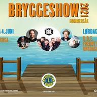 Bryggeshow fredag 4. og lørdag 5. juni.