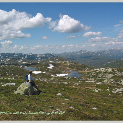 Topptur til Øysteinnatten, 1174 moh