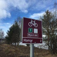 Nasjonal sykkelrute 7/Mjøstråkk: Eidsvoll-Morskogen