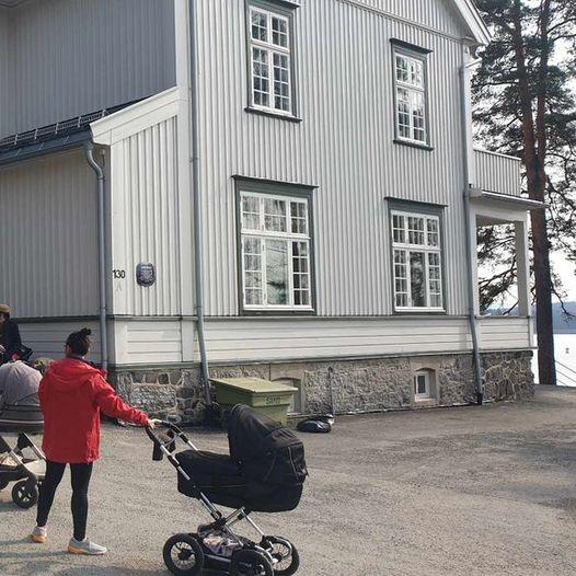 Trilletur fra Sanvika til Kalvøya, Engervannet og Sjøholmen