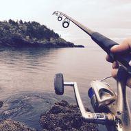 Tur til Sandhaug/Besso med fiske i Normannslågen