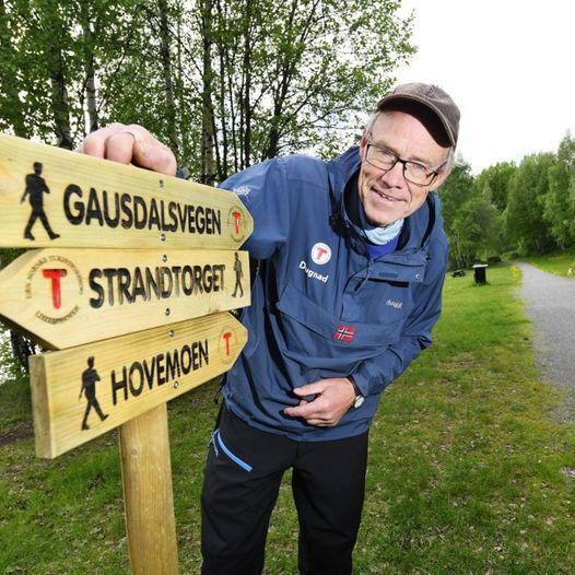 Bynær tur fra Strandtorget via Hovemoen til Gausdalsvegen