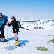 Topptur på ski til Søre-Knipen (1547 moh.)