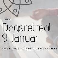 Dagretreat | Yoga, Meditasjon & Vegetarmiddag
