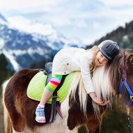 Hesteridning på Storefjell