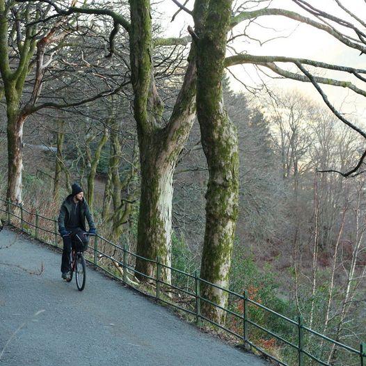Grønne sykkelruter: Fjellveien fra Sandviken til Bellevue