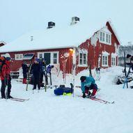 Finnmark på langs, fra Alta til Karasjok på ski.