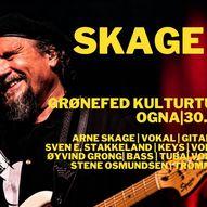 Arne Skage med band // Ogna Scene