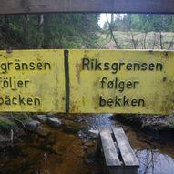 Fra Tistedal til svenskegrensen.