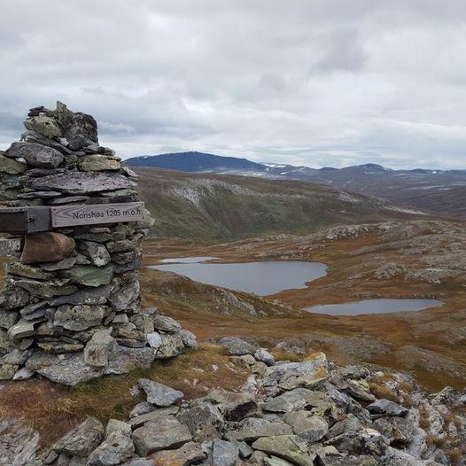 Nonshøa 1210 moh.