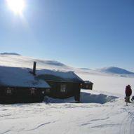 Seinvintertur over Saltfjellet