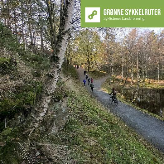 Grønne sykkelruter, Kristiansand: Eg sykehus - Baneheia - Setesdalsveien