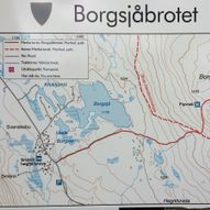 Tur til Borgsjåbrotet via Flyvraket