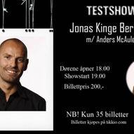 Standup på Slakteren med Jonas Kinge Bergland!