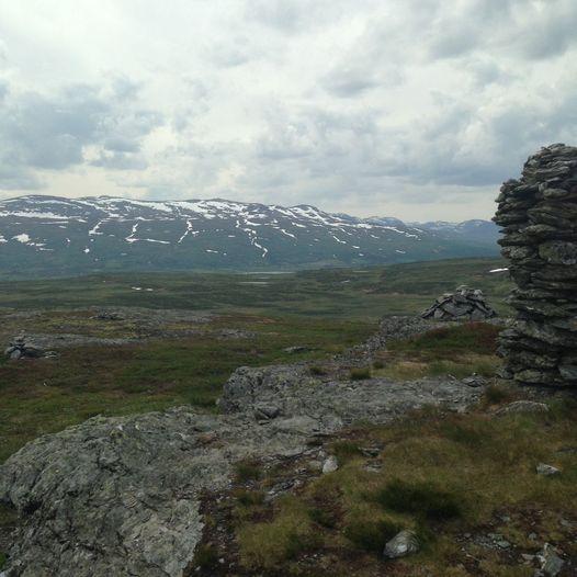 Barnetur til toppen av Rennefjellet (1149 moh)