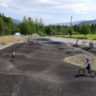 Sykkelparken i Brudalen, Harpefoss