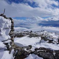 Hyttdalskamben 1308 moh. fra Vassendsetra.