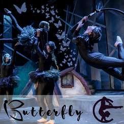 """Butterfly"" i Fana kulturhus kl. 15:00, søndag 26.09.21"