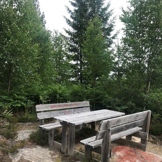 Håkon Jarls plass - rundtur om Landegrenda