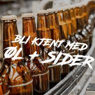 Bli kjent med ØL + SIDER i Matbaren - 1. september!