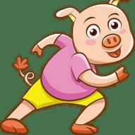 Sett halen på grisen