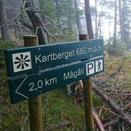 Utsiktstur til Kartberget