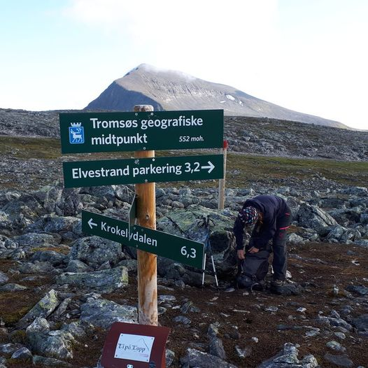 Kroken - Tromsø geografiske midtpunkt - Tromsdalen