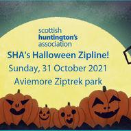 SHA's Halloween Zipline Challenge