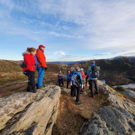 Fra Selvik mot Storsåta, via Setervatnet , Stangelifjellet og Raunfjellet