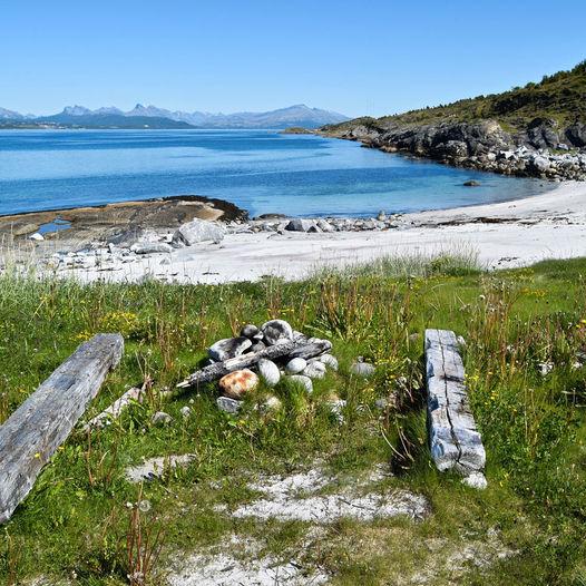 Fjæretur på Straumøya i Bodø