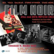 FILM NOIR AFTEN med BRITA MØYSTAD ENGSETH & Tom Garretson