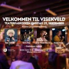Visekveld på Teaterfabrikken // Onsdag 29. september
