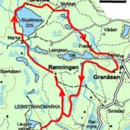 Fra hytte til hytte i Bymarka - 15km