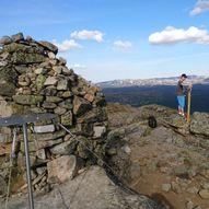 Topptur til Haglebunatten 1278 m.o.h.