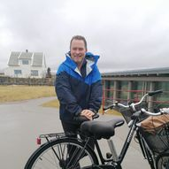 På Sykkel kul-tur med Svein Høyland