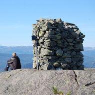Topptur til Nare (805 moh) i Sauheradsfjella
