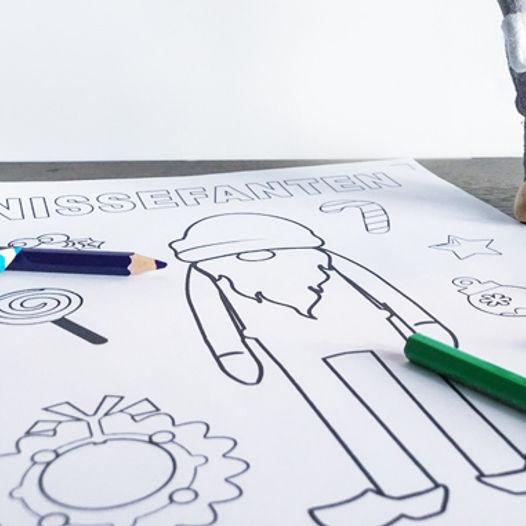 Fargelegg Rampenissen - last ned og skriv ut helt gratis