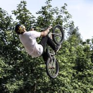 Trans'matorn sykkelpark Heggedal