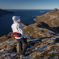 Topptur til Rauddalsegga på Husevågøy