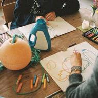 Tegneverksted med The Art Collective - Don't think Do(odle)  / Trevarefabrikken