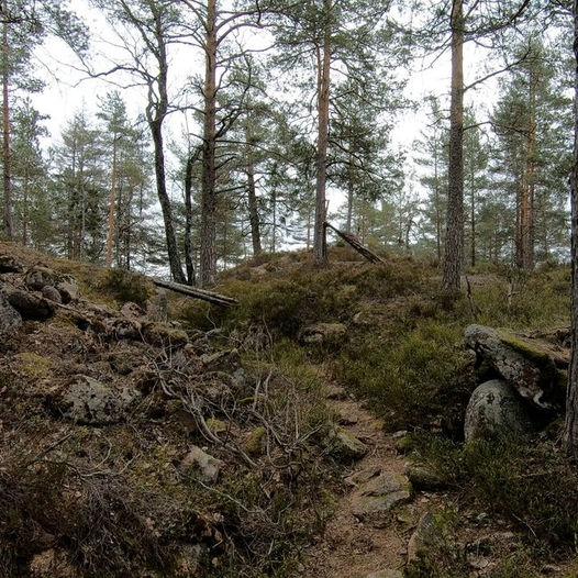 Historisk tur i Herstadheia via Bygdeborgen