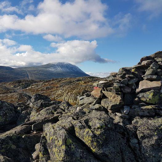 Topptur til Toreskyrkja 1364 moh, fra Kvitåvatn