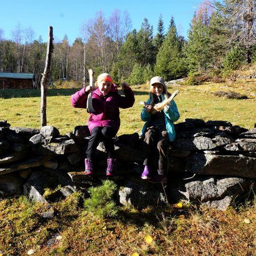 Gapahuken i Sætervasskogen, den nye møteplass i Storlidalen.